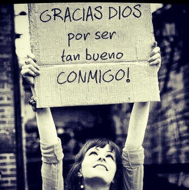 Gracias Dios mio...
