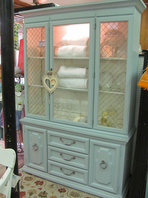 painted china cabinet!