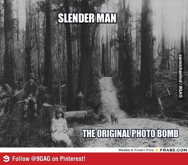 The very first Slender Man sighting.