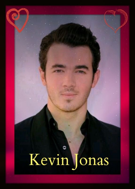 I made this graphic of Kevin Jonas.