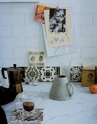 Στη ζωή μου: Vintage Έπιπλα και Διακόσμηση Ανακτηθείσες: Χώμα υδραυλικά και πολύ εκλεκτής ποιότητας πατώματα κεραμιδιών και πλακιδίων {Vintage}