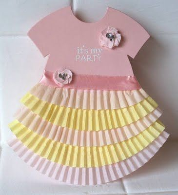 Could use this same idea for B'day card, using the cupcake liners for a cupcake on the card.