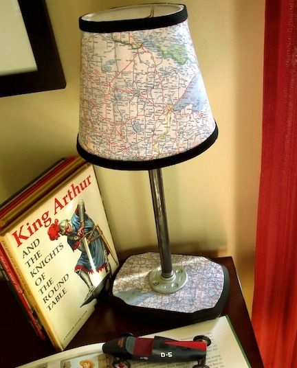 THIS is what I want to do with all those maps of my hometown my dad made me carry around while I was learning to drive!