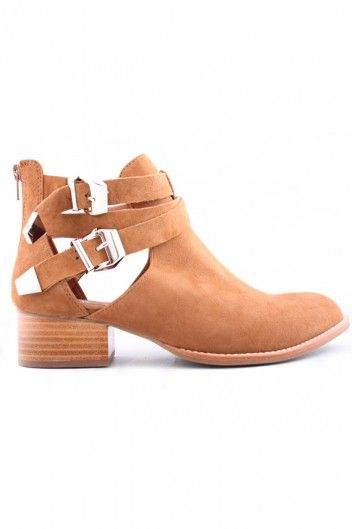 JEFFREY CAMPBELL EVERLY BROWN SUEDE