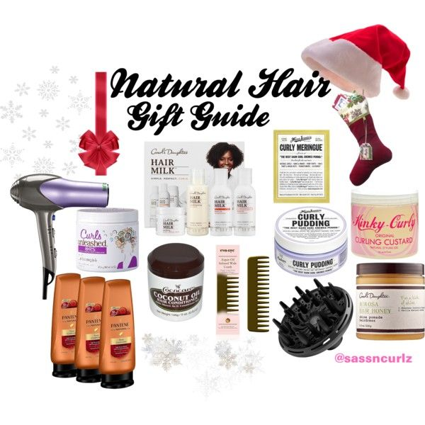"""Natural Hair Gift Guide"" by sassiegirl on Polyvore"