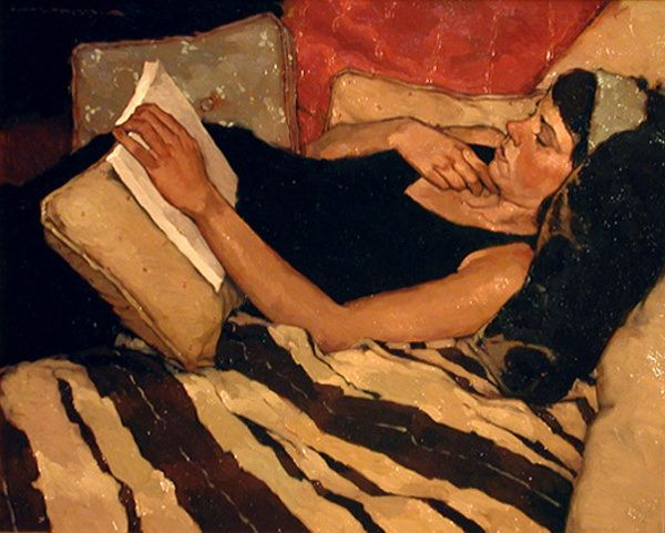 An Easy Read / Joseph Lorusso (contemporary American artist)