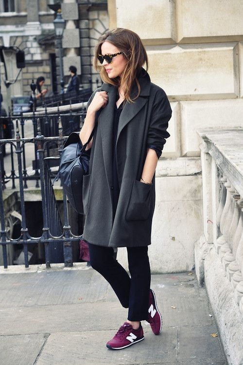 This is great for chilly day ~ Liking those shoes big time!
