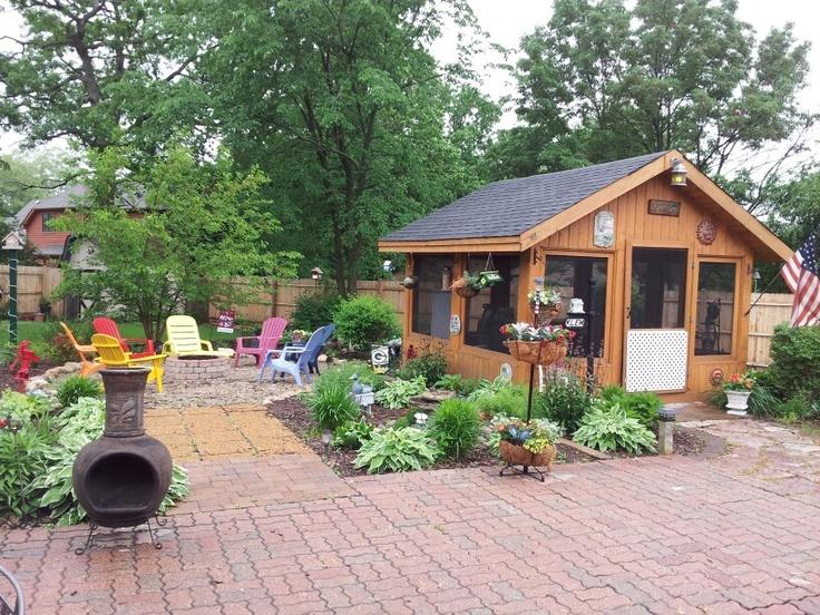 Backyard Patio Ideas | Joy Studio Design Gallery - Best Design on Backyard Retreat Ideas id=76676