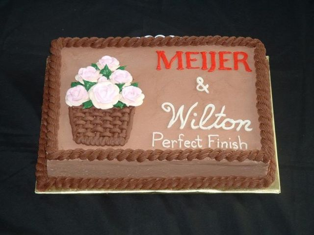 Meijer and wilton cake cakes ive made pinterest