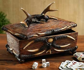 4270033002: Antler Decorative Box