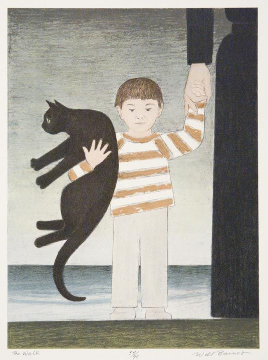 """The Walk"" by Will Barnet"