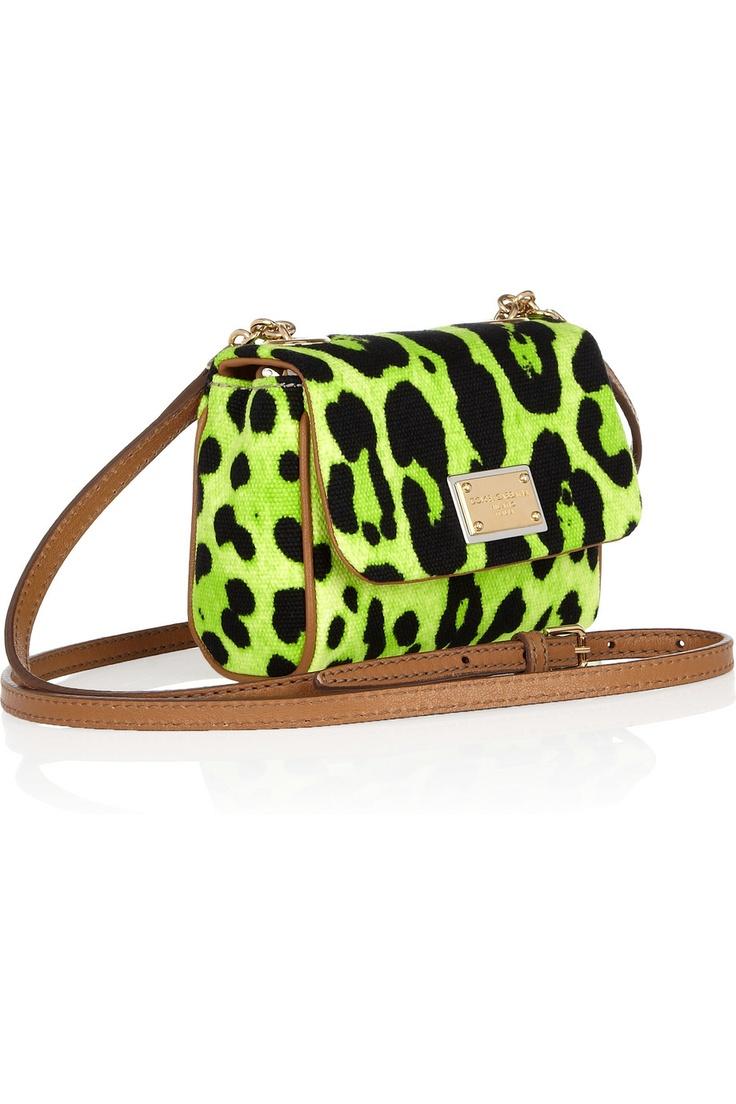 Dolce & Gabbana Neon Leopard