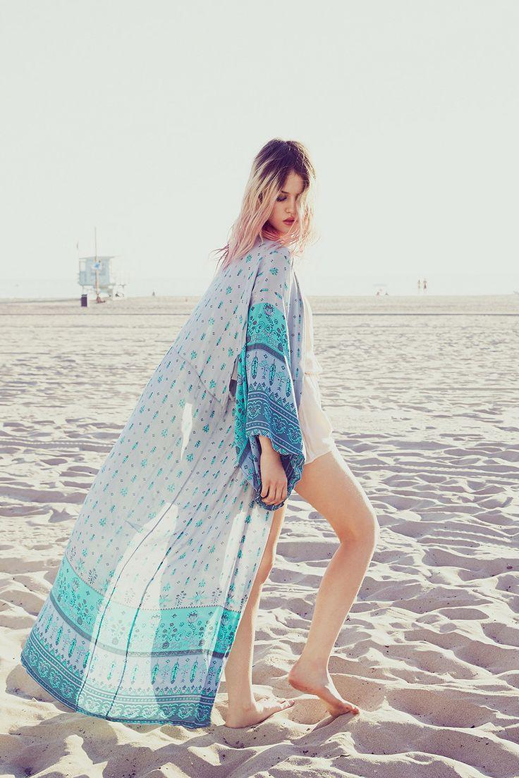 Desert Wanderer Maxi Kimono - Dawn | Spell & the Gypsy Collective