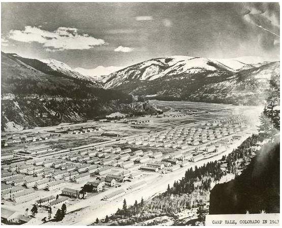 Camp Hale near Leadville, Colorado ~ 1940's