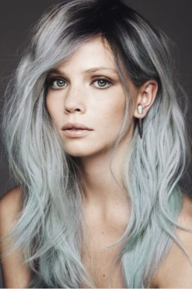 Not Your Grandma's: White & Silver Hair..... My hair would fall out but I love this color!!!!!!