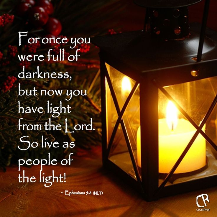 Image result for bible verse on living in the dark
