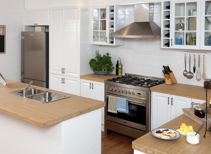 bamboo benchtop saw today at bunnings kitchen ideas pinterest on kaboodle kitchen enoki id=90663