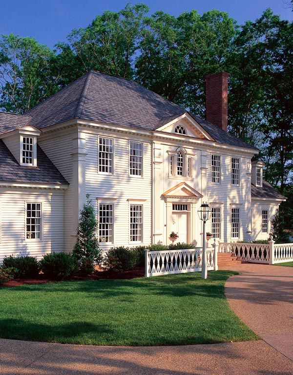 Colonial   Plantation   Southern   House Plan 86186 - Might like this one the best.  Time to play Lotto.  lol.