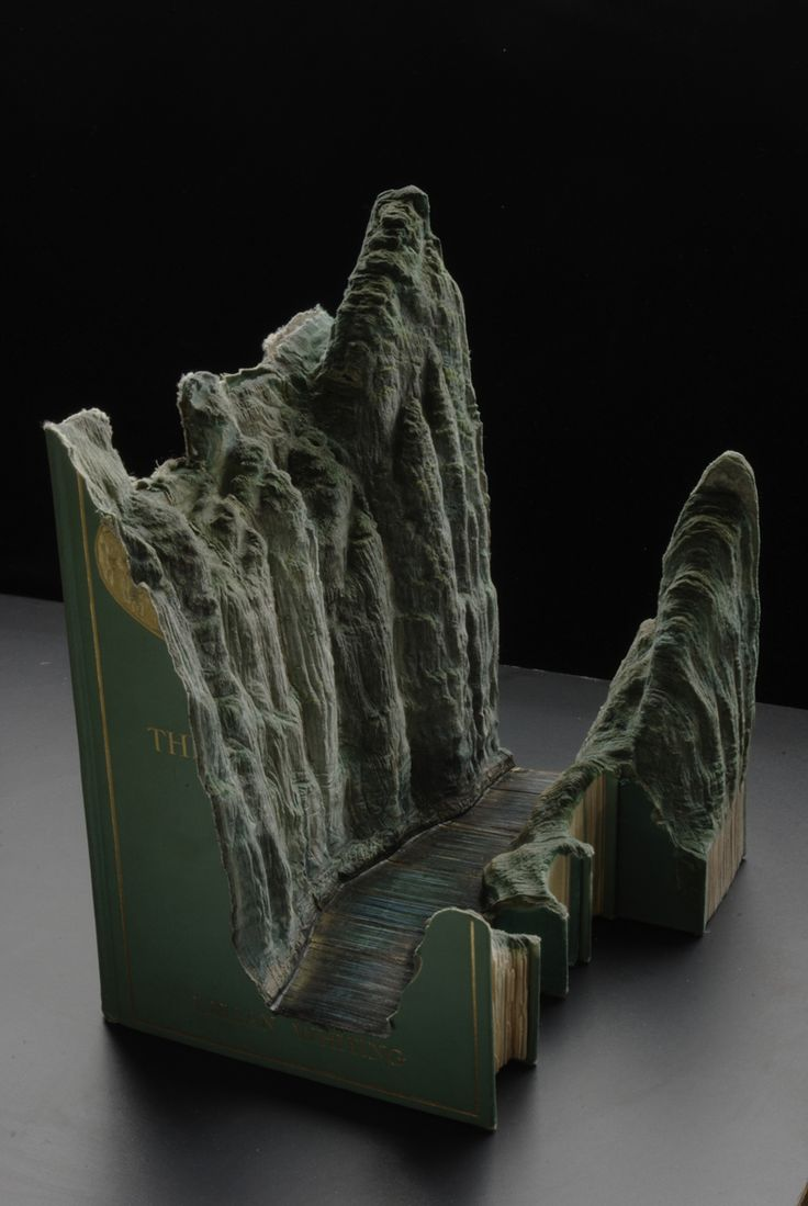 Book Sculptures, creative, design, Guy Laramee, innovation, Inspiration