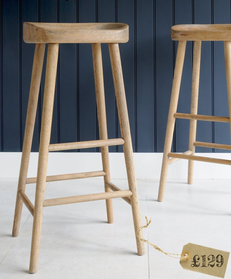 Weathered Oak Bar Stool For The Home Pinterest