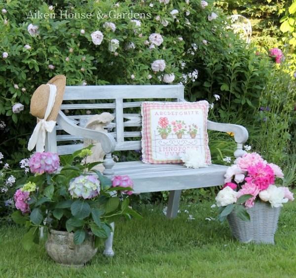 beautiful garden benches a beautiful bench | My garden | Pinterest