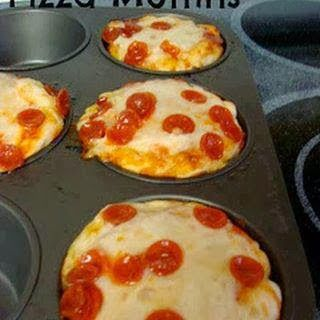 Cupcake Pizzas  Ingredients Pillsbury Refrigerated Pizza Dough Pizza Sauce Shredded Cheese Pepperoni Cupcake Tin  Directions Preheat oven to  Click for full recipe.