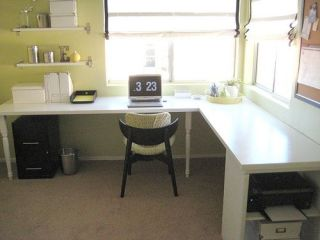 That's the L shape desk I want!
