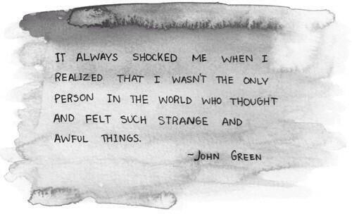 John Green, you genius.