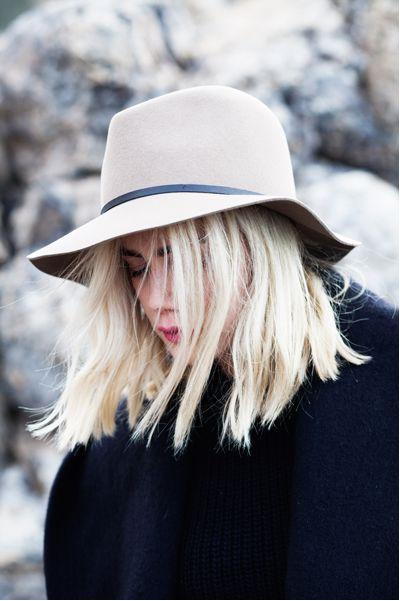 hair + hat