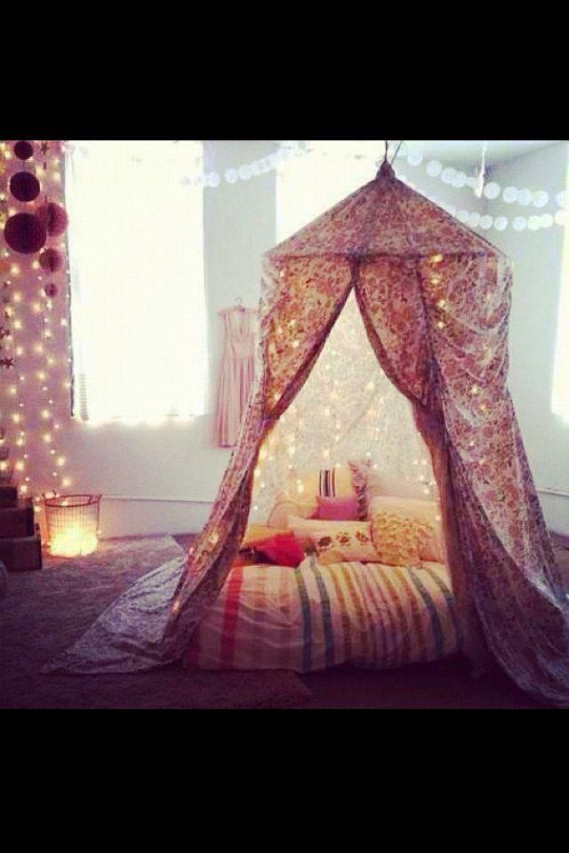 dormitorio étnico y colorio