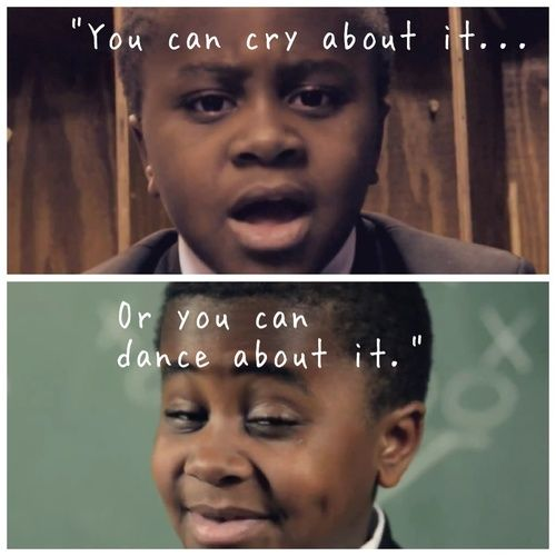 Kid President speaking truth.
