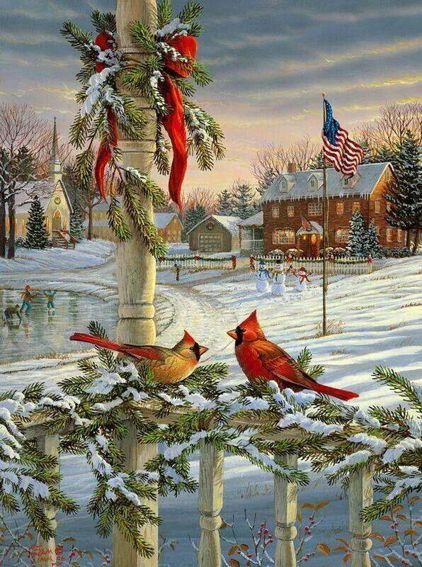 Artist, Sam Timm | Christmas | Pinterest