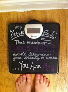 Weight loss inspiration - ditch the scale!