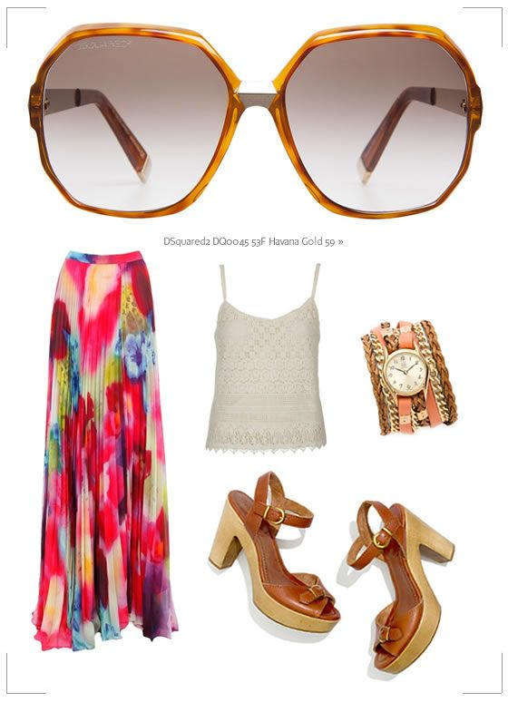 Coachella Festival Sunglasses: Time to Get Packing | The Look | Coastal.com – Your Eyewear Fashion Destination #Coachella Boho Chic