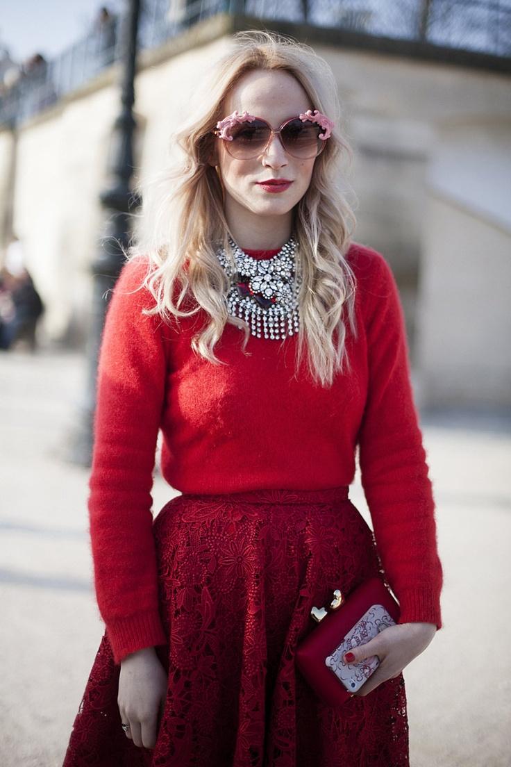 Street style en Paris Fashion Week © Josefina Andrés