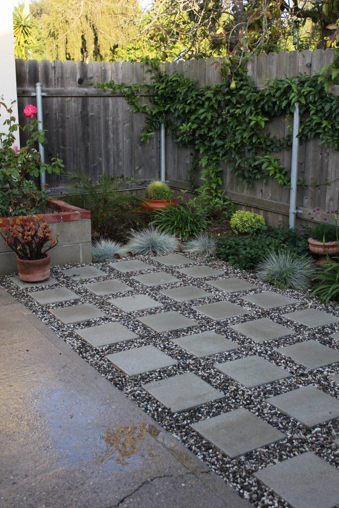 Square Concrete Pavers | DIY Patio | Gardening | Pinterest on Square Concrete Patio Ideas  id=23345