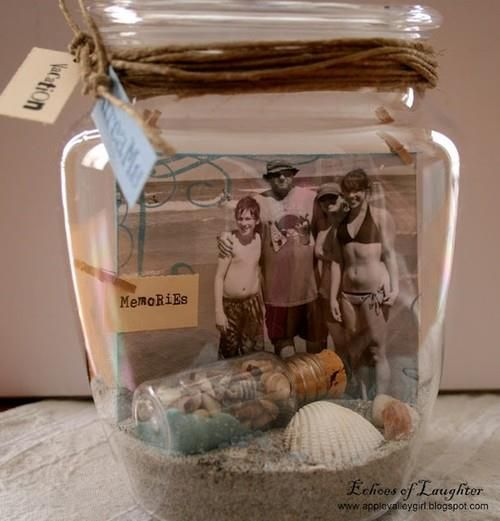 memory jar DIY w pictures