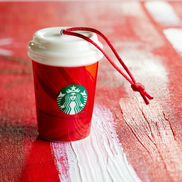 Starbucks Holiday Collection. A perfect little ornament for all the coffee lovers out there.