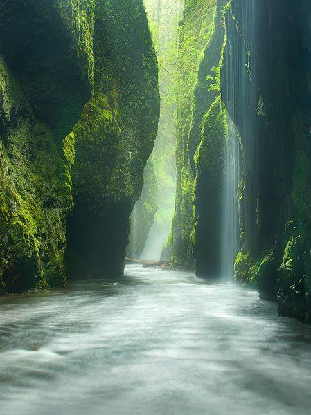 Oneonta Canyon River Gorge
