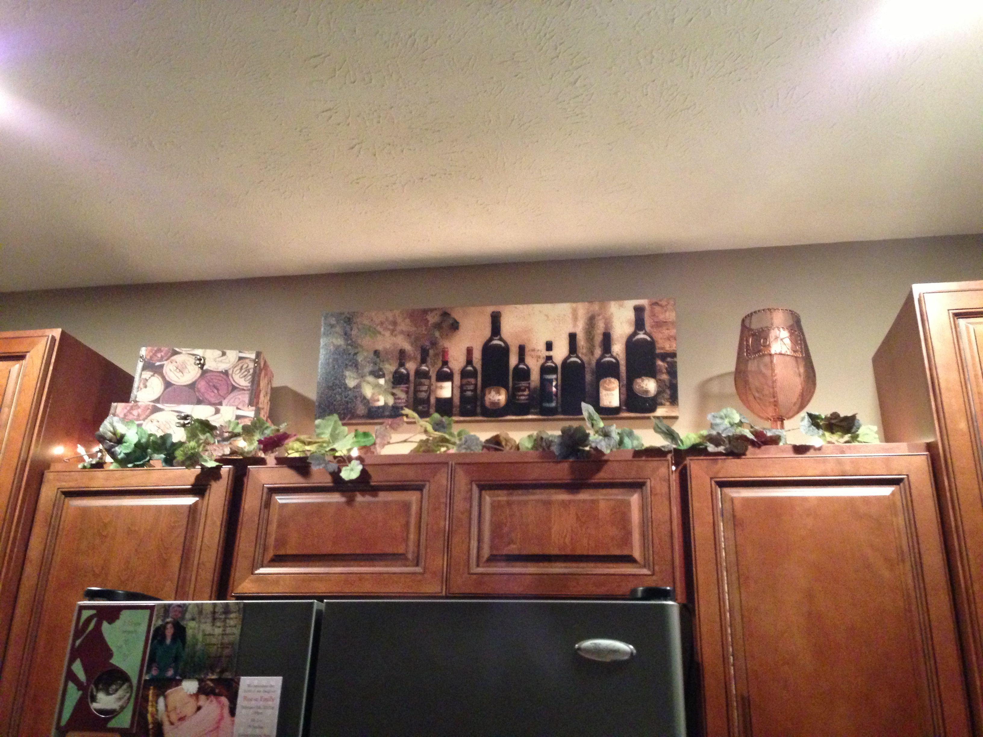 wine kitchen cabinet decorations home decor ideas pinterest on kitchen ideas decoration themes id=44757