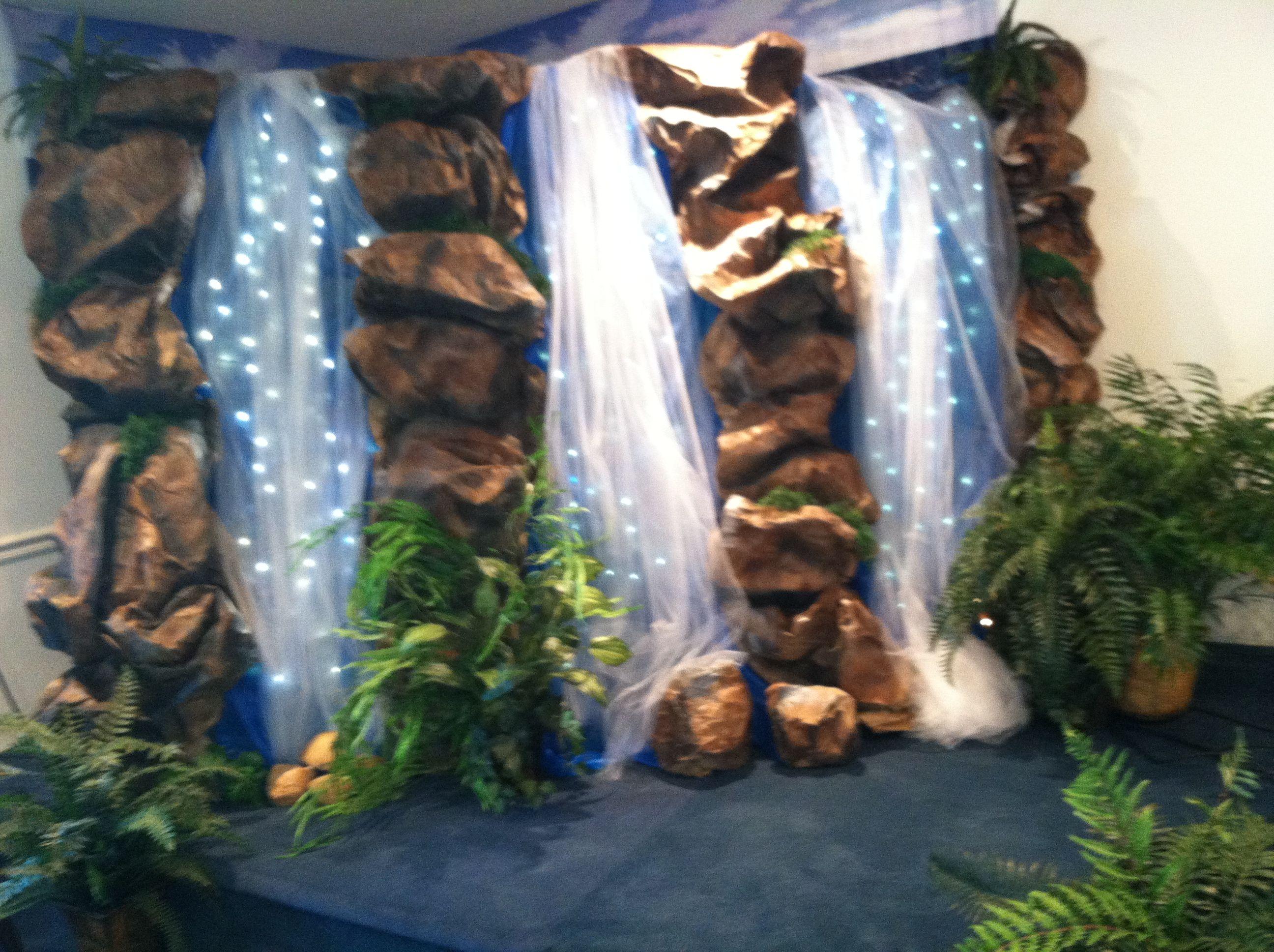 Classroom Waterfall Ideas ~ School parade float ideas