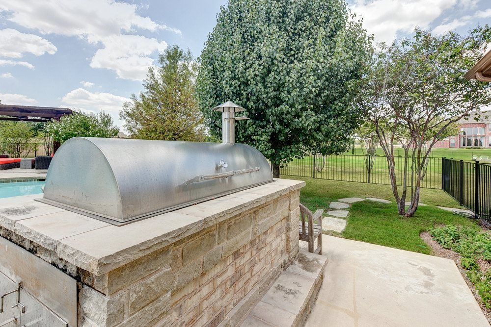 definitely need the built in smoker outdoor kitchens pinterest on outdoor kitchen with smoker id=80733