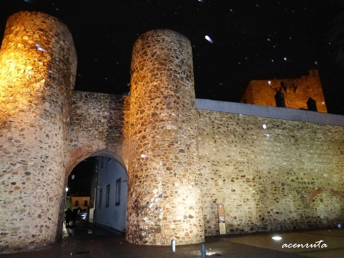 Olivenza. Puerta de Alconchel