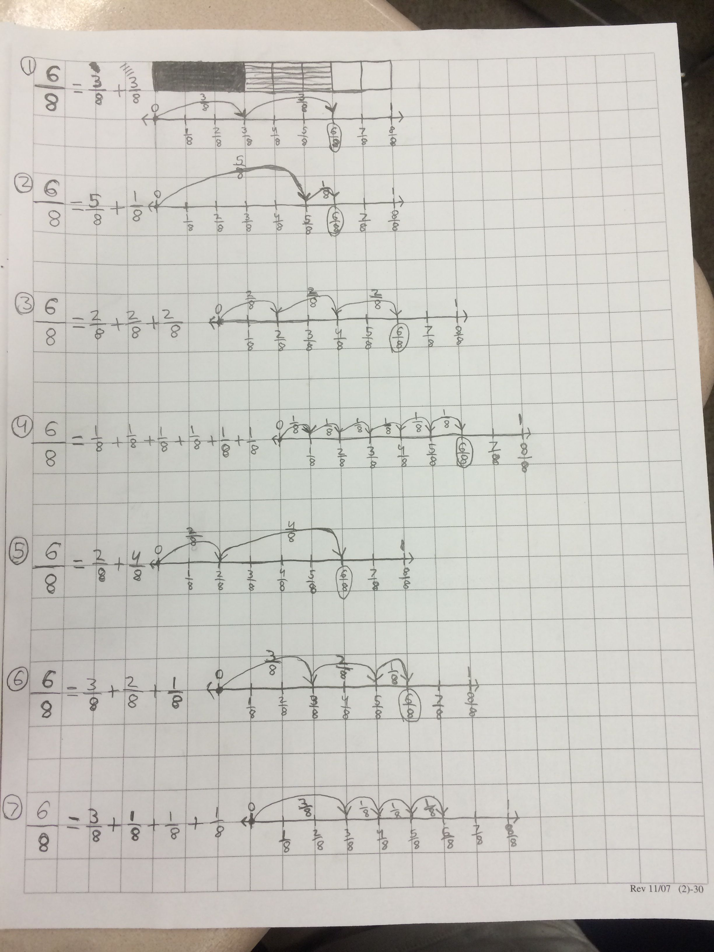 Search Results For Decomposing Fractions Worksheets 4th