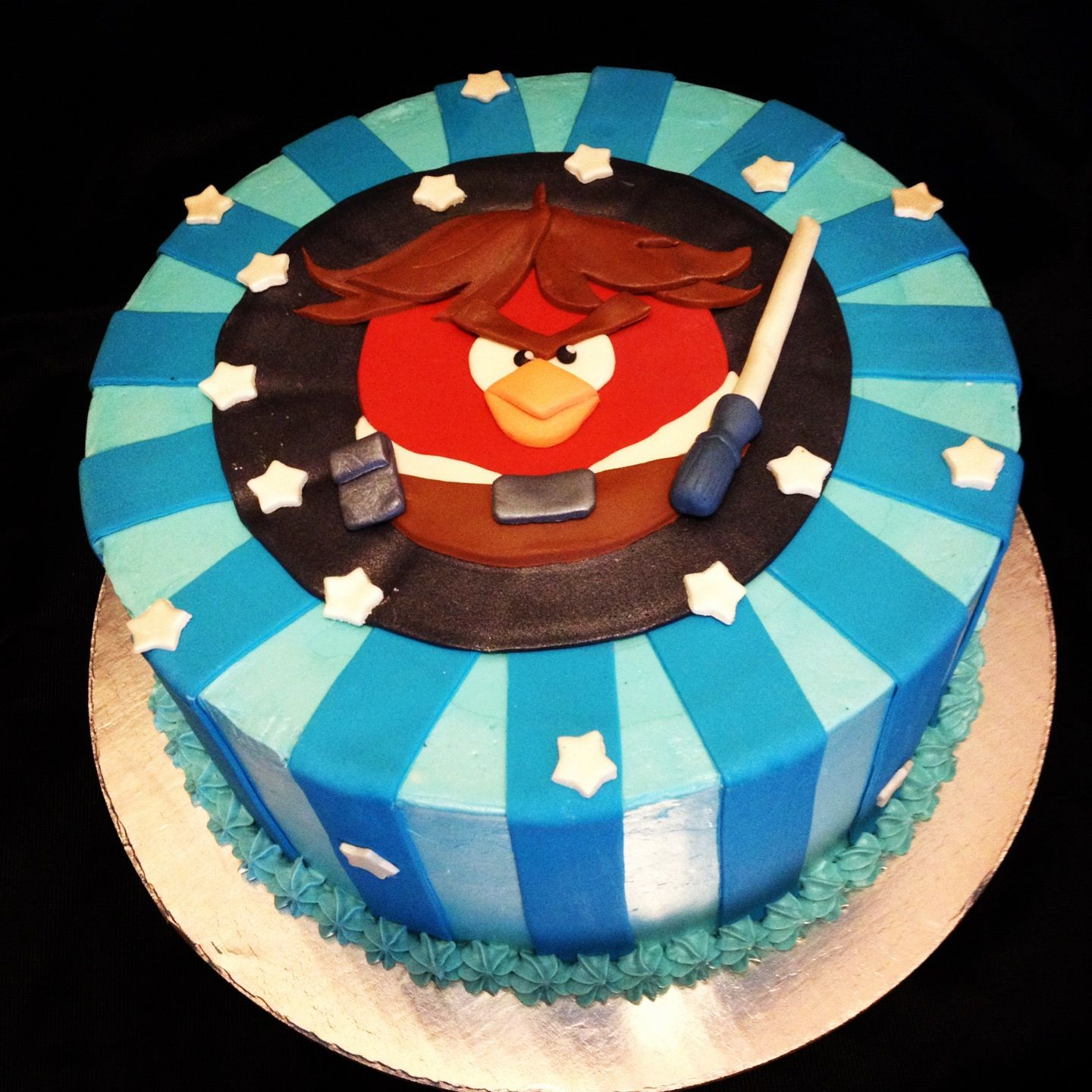 Angry Birds Star Wars Cake Scouts