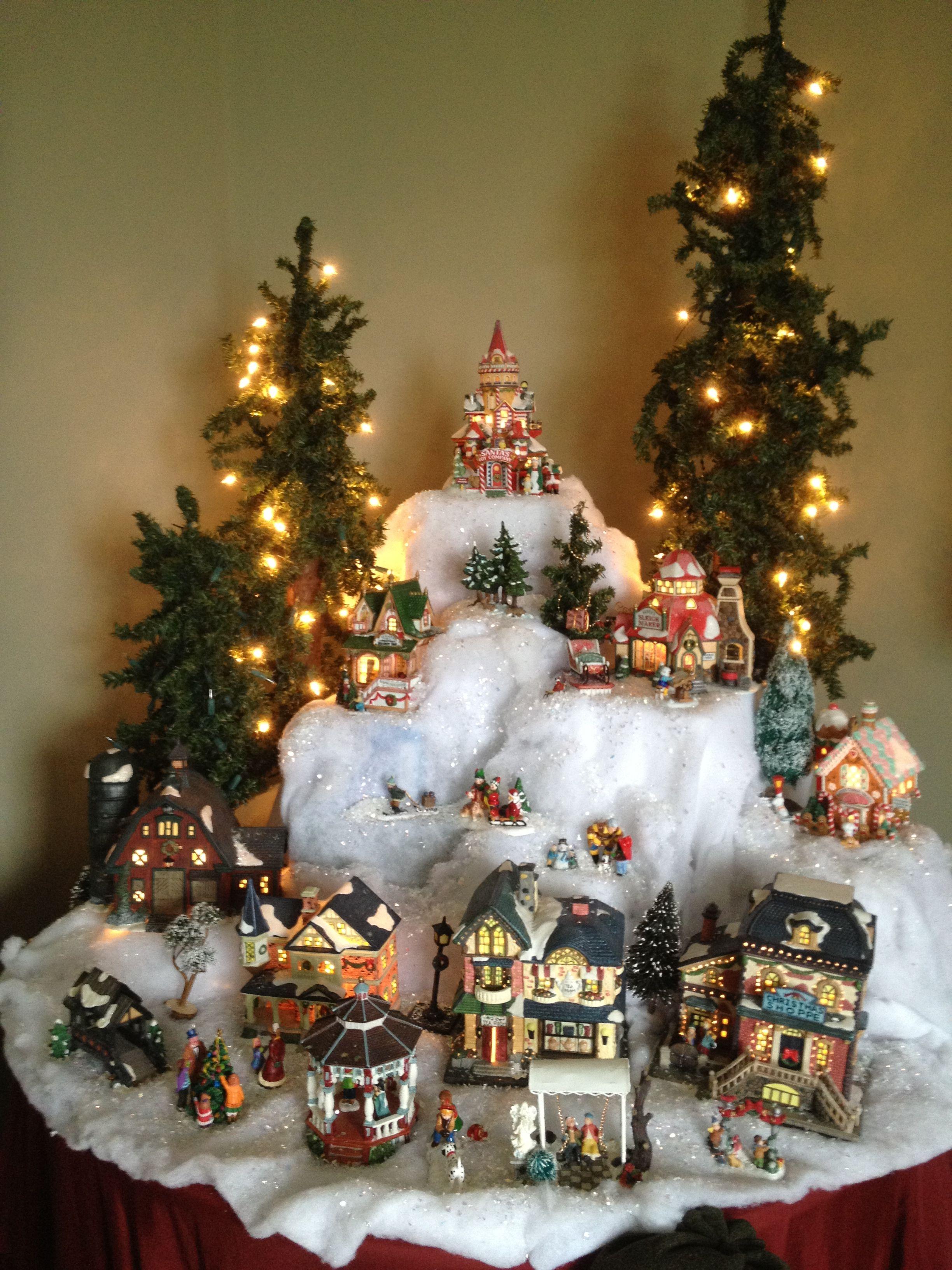 Christmas Village Christmas Village Ideas Pinterest