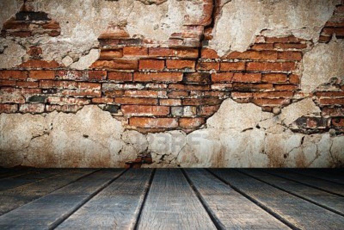 brick wall crumbling plaster home decor pinterest on brick wall id=66345