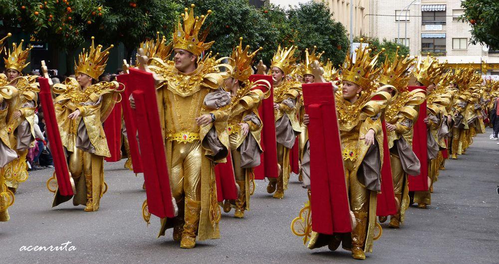 Carnavales de Badajoz. Desfile de Comparsas