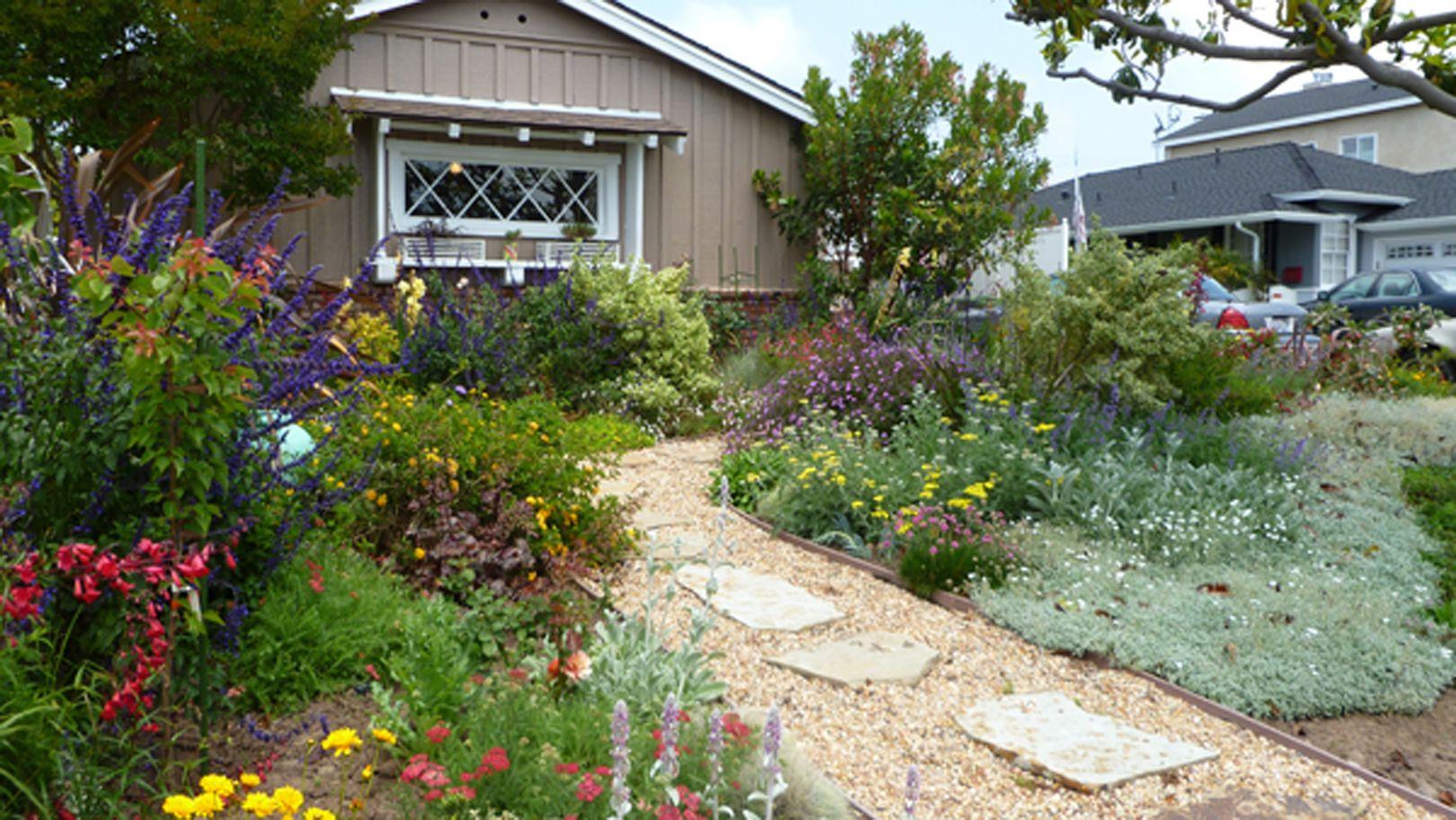 No grass front yard! | My Work: Botanica Landscape | Pinterest on No Grass Yard Ideas id=90389