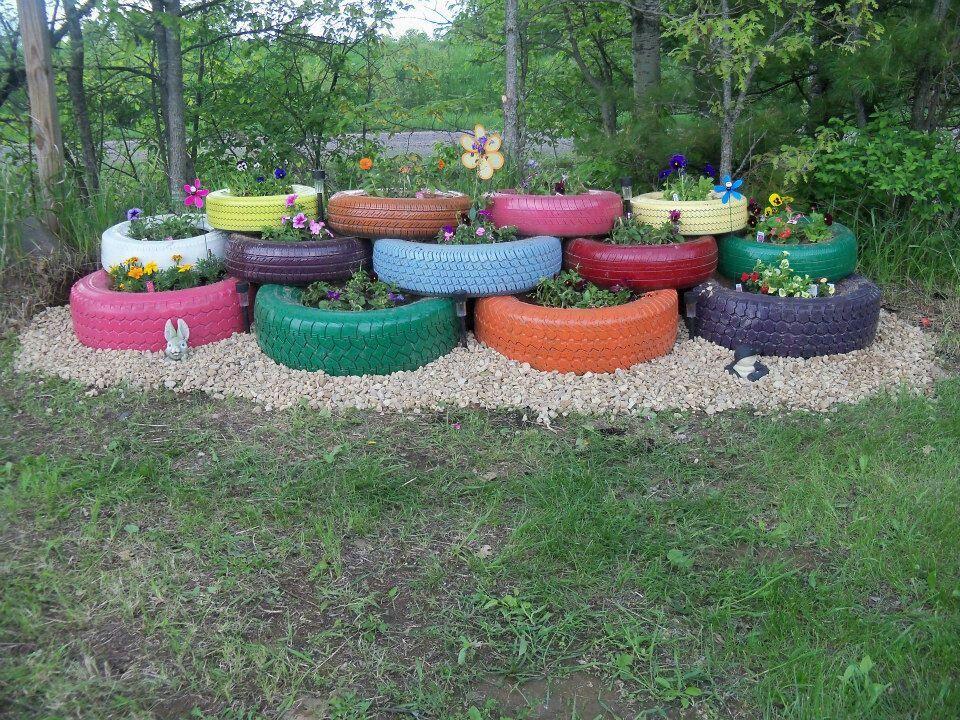 Raised Garden Wheels
